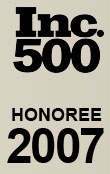 Inc. 500 Honoree 2007
